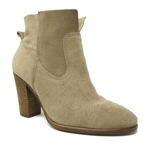 Vince Camuto Womens Booties Fiena Size 5.5 M Tan
